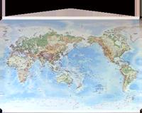 The giant sized canvas pacific centred telegram world physical telegram medium canvas world map maps telegram maps and globes telegram paper goods gumiabroncs Choice Image