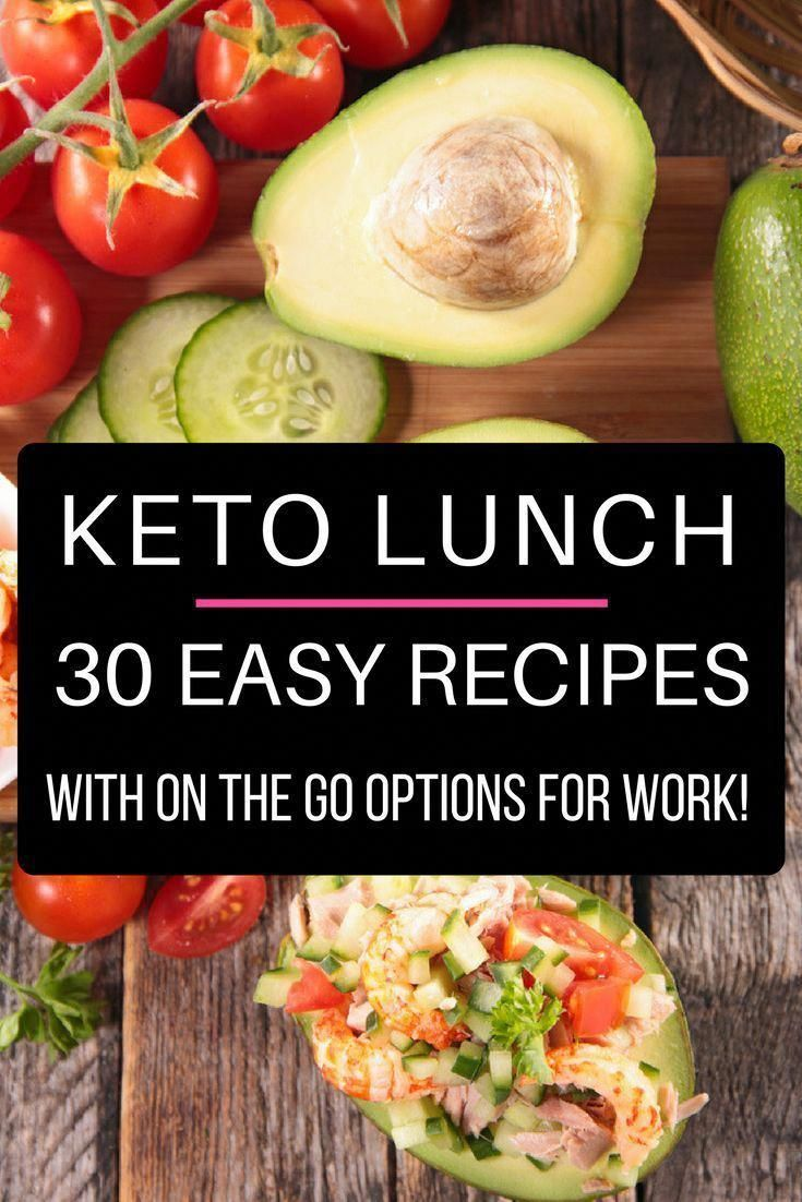 30 low carb keto lunch recipes perfect for work, home or on the go! If you're new to the ketogenic d...