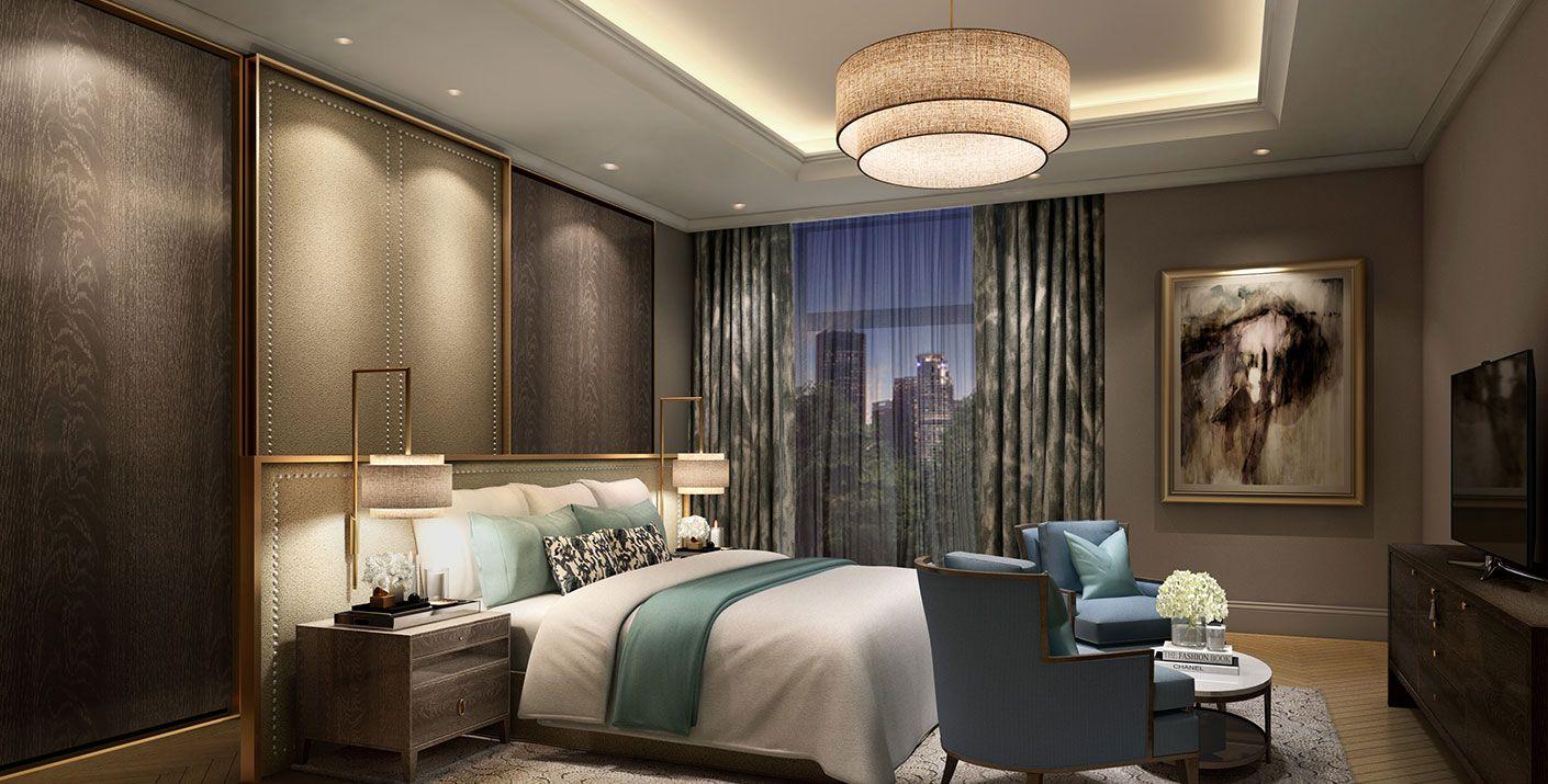 Prestige Hermitage In Bangalore India Designed By Studio Hba Luxury Bedroom Master Luxurious Bedrooms New Bedroom Design