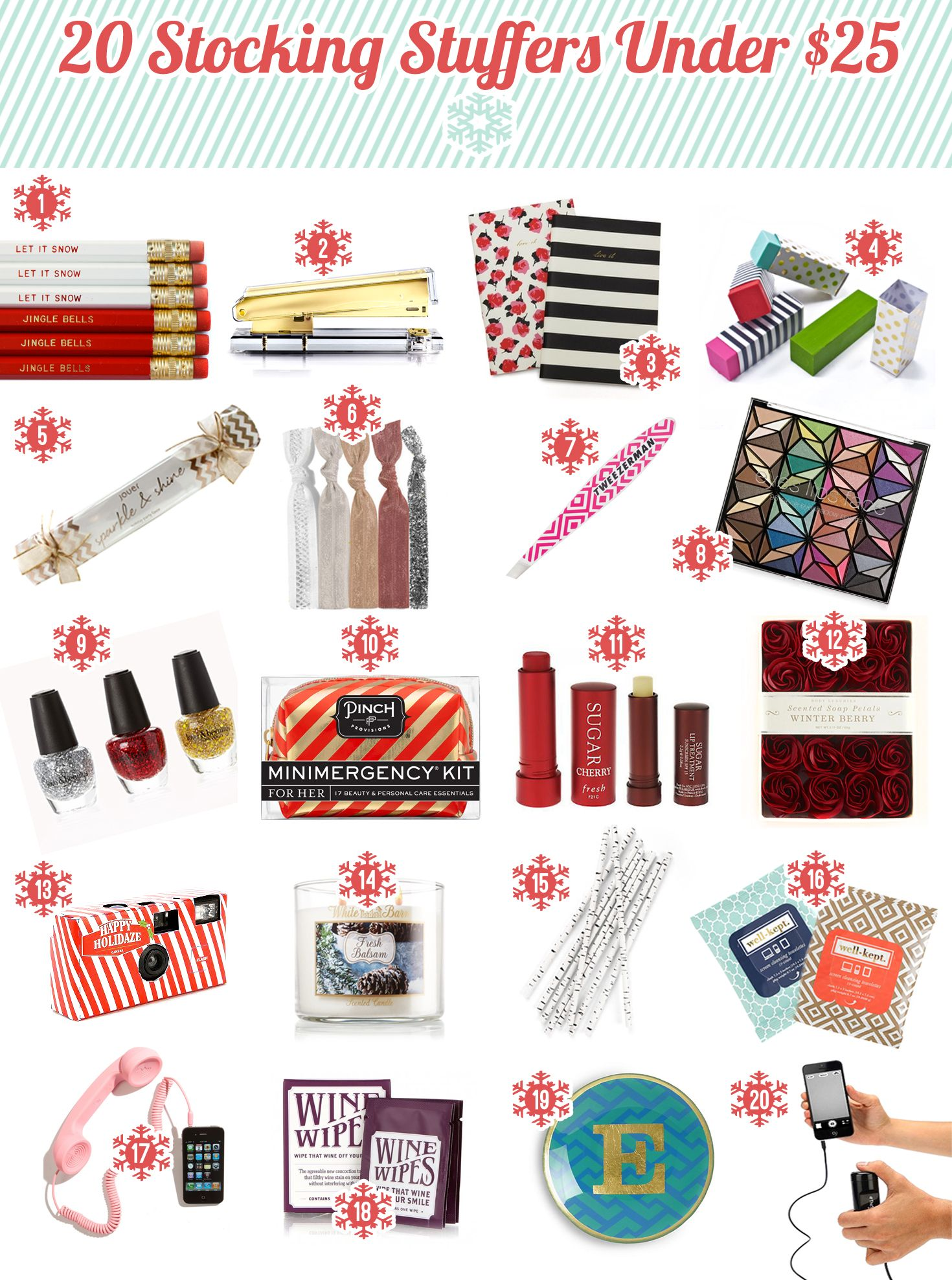 2013 holiday gift guide secret santa gift ideas under 25 for best christmas gifts for secret - Best Christmas Gifts Under 25