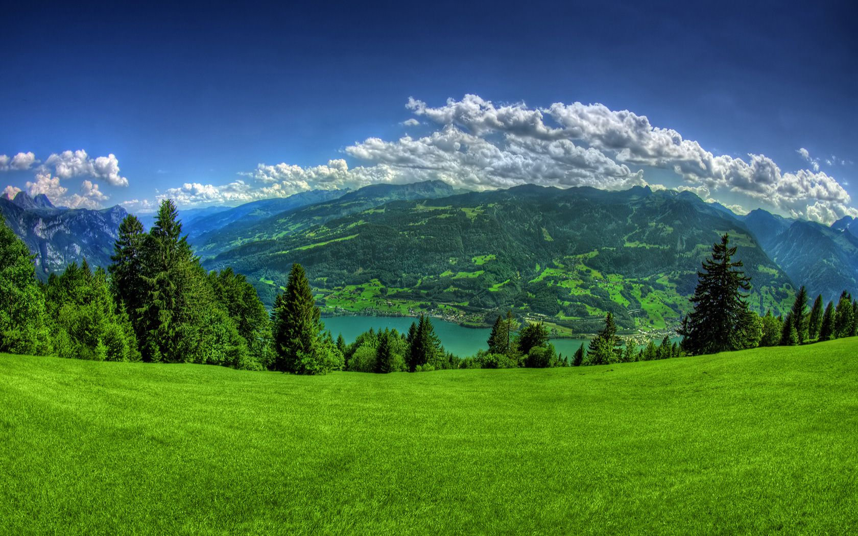 Green Nature 1680x1050 Beautiful Nature Wallpaper Beautiful