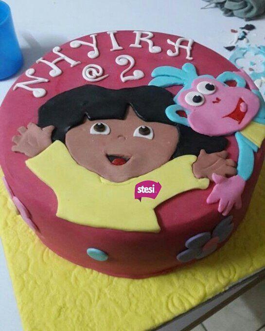 dora cartoon birthday cake birthday cake ideas cake design diy