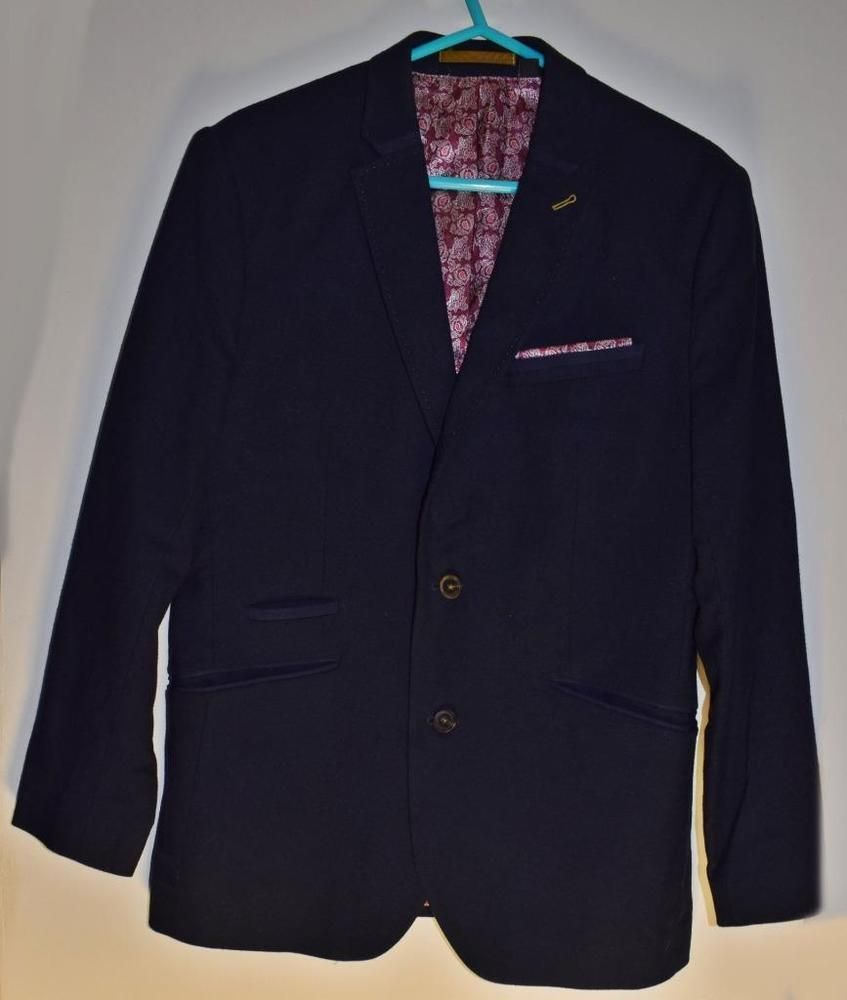 eabee7bc56cd TED BAKER Mens Smart Formal Jacket Size 4 or Large Chest 40 42