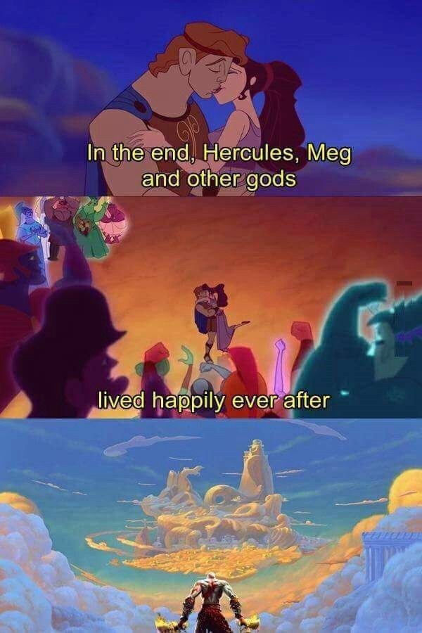 disney hercules vs kratos - photo #2