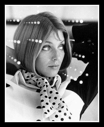 Joanna Shimkus, photo by Bert Stern | Vogue, August 1, 1969