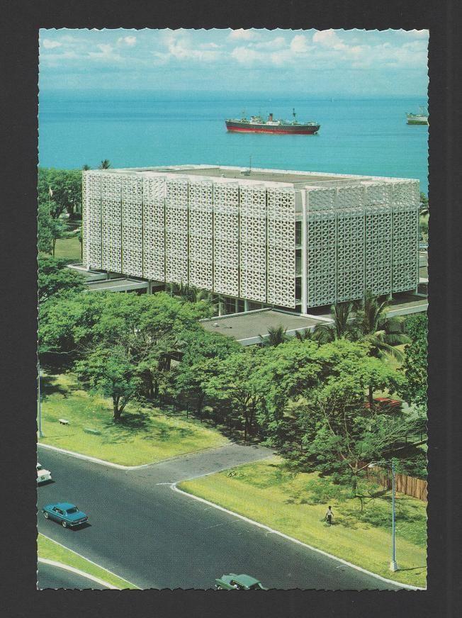 Us Embassy Manila1960 Philippine Architecture Manila Philippines Manila