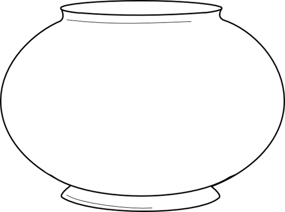 Download Or Print This Amazing Coloring Page Blank Fishbowl Clip Art Vector Online Royalty Free 295735 Fish Printables Fish Bowl Printable Coloring Pages