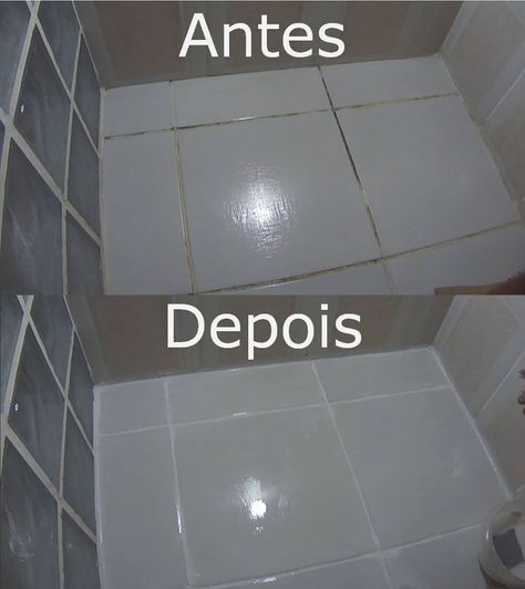 Receitinha De Limpar Os Rejuntes Do Banheiro Super Facil E