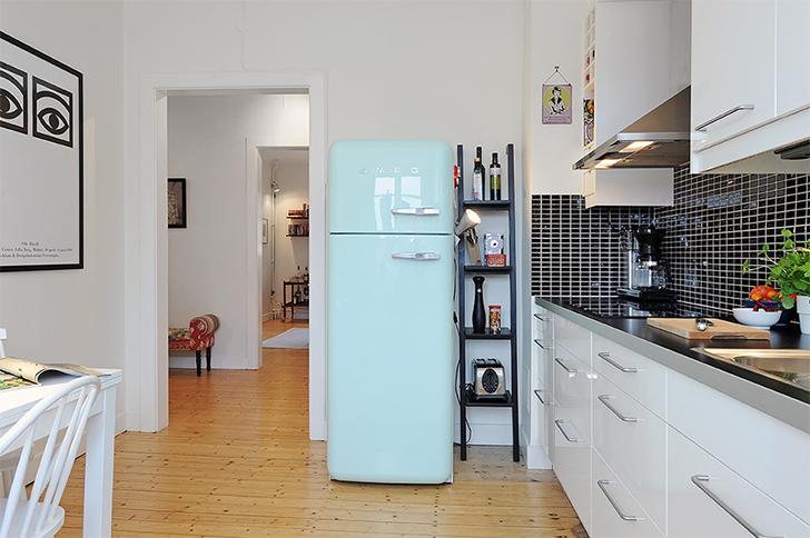 Geladeira colorida na cozinha: personaliza e alegra o ambiente ...