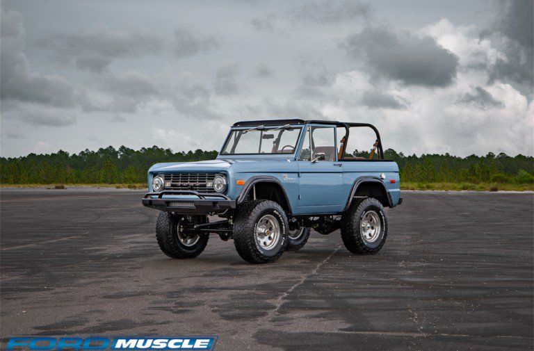 This Coyote Swap 1973 Restomod Is The New Bronco You Need Ford Bronco Bronco New Bronco