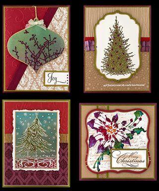 Tutoriels de cartes par Penny Black part. 2 / Christmas cards by Penny Black part 2