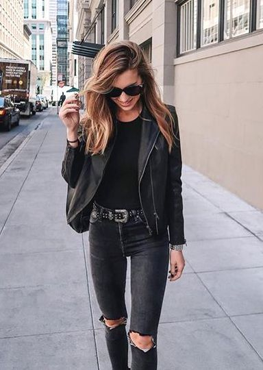 e48f5e95fa22 How to Pull Off a Stunning All Black Look | // Black is the New ...