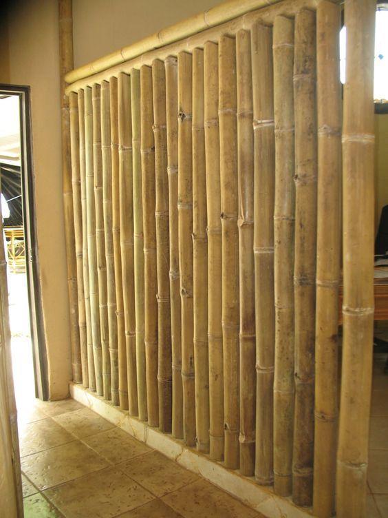 division de bambu: | Partisi | Rustic patio, Bamboo building