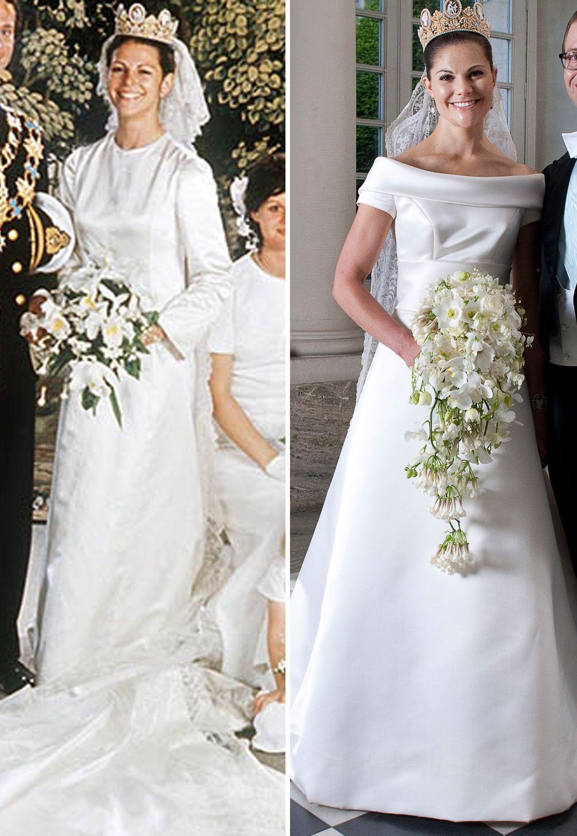 Mutter und Tochter heiraten am gleichen Tag! Königin Silvia von