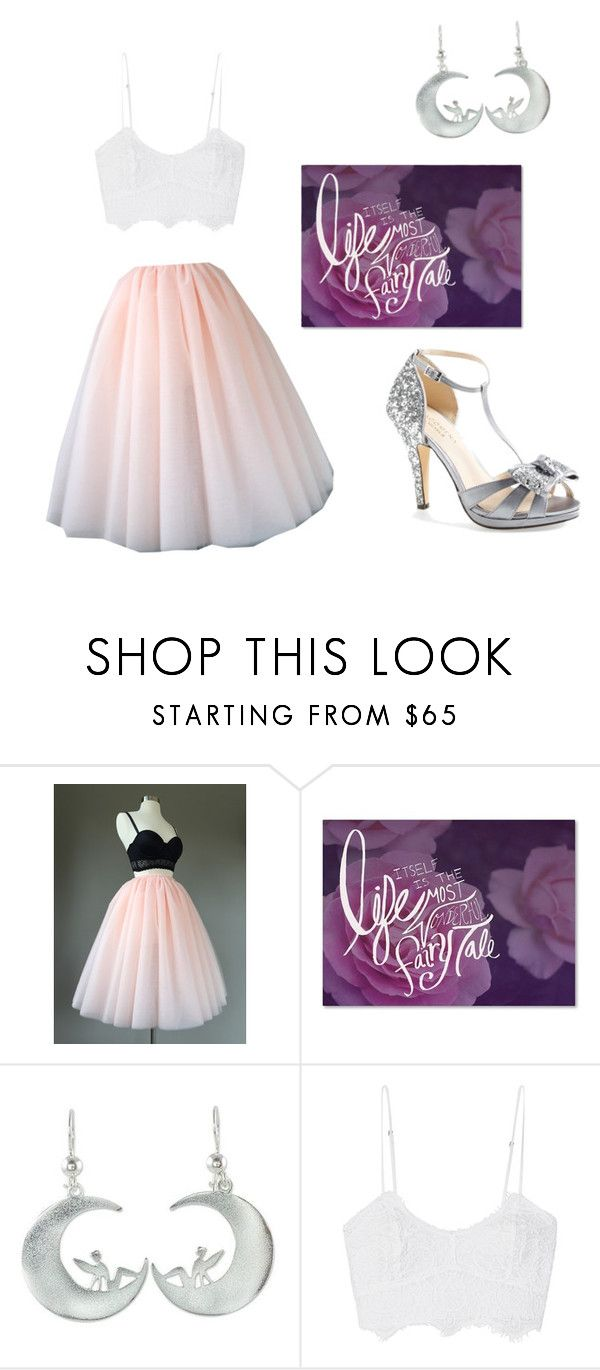 """Fairy Love"" by kaylin-sols ❤ liked on Polyvore featuring Trademark Fine Art, NOVICA, Miguelina and Menbur"