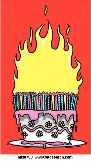 34+ Clipart birthday cake on fire ideas in 2021