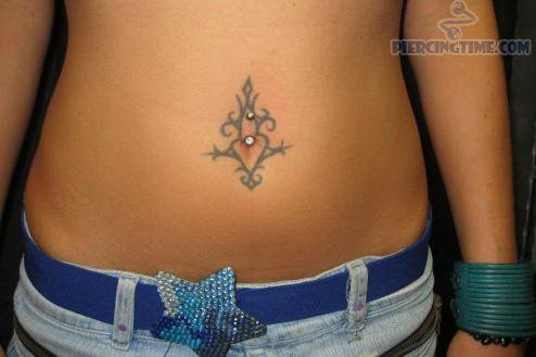 Around Belly Button Belly Button Tattoo Belly Tattoo Stomach Tattoos