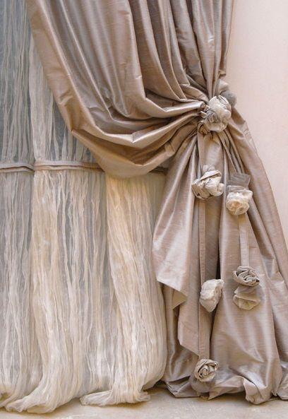Zdroj pinu tendeperinterni ديكور Pinterest Cortinas - cortinas decoracion