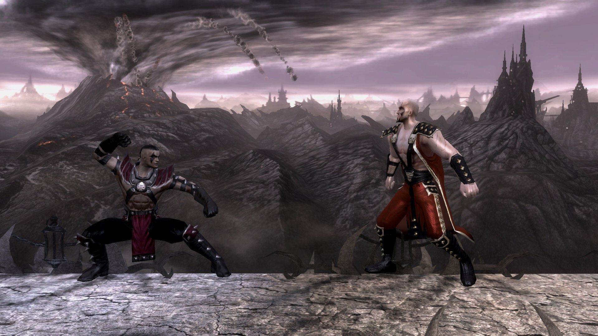 Reiko and Daegon's cameo appearance in the Pit arena of Mortal