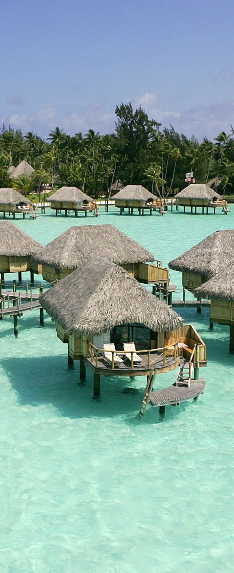 Pin by DirectRooms.com on Hotels in the water | Moorea ...
