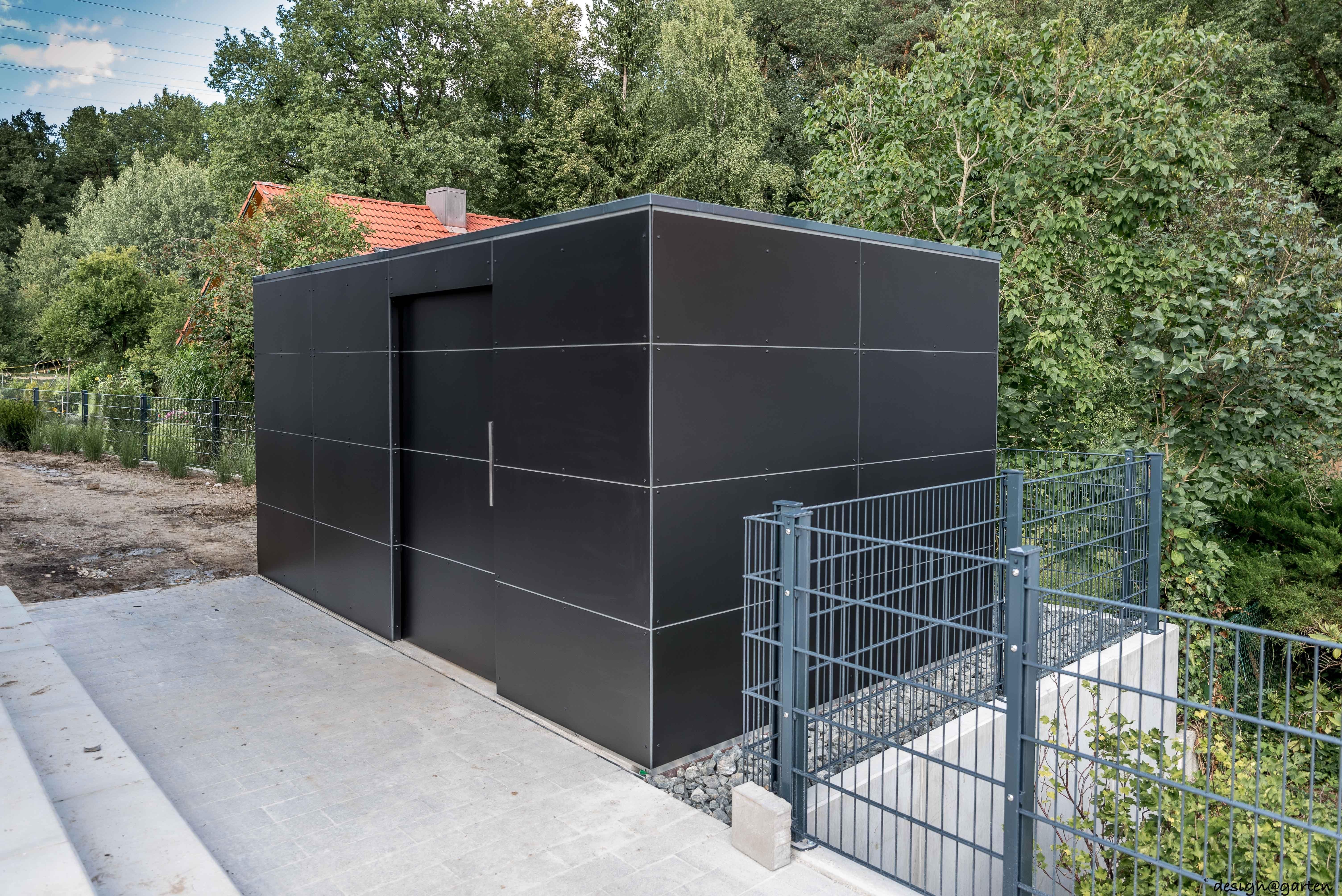 Design Gartenhaus _gart black box in München by design