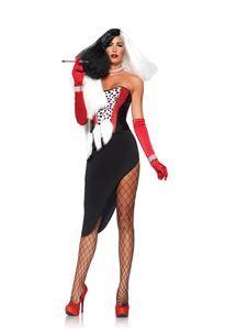 Cruel Diva Adult Womens Costume - 346901   trendyhalloween.com #womenscostumes
