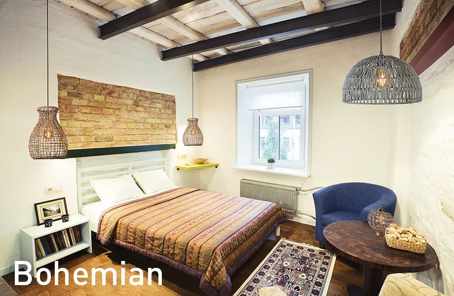 warme knallige farben muster und metallische akzente sind viel im bohemian einrichtungsstil. Black Bedroom Furniture Sets. Home Design Ideas