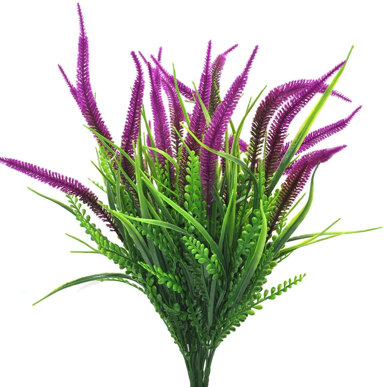 Each order contain 4 bunches,each stem total length approx 18.9″, unfold wide approx 8.8″ Idea faux plants for home, garden, hotel, terrace, office, verandah, guesthouse, Christmas, wedding and other indoor outside decoration Quality Material: Made from high quality plastic material. Natural color, eco-friendly and hassle free, which can be washed by water and never fade... #ArtificialFlowers #DecorationBouquets #ArtificialPlants #FakePlants #HomeDecor #ad
