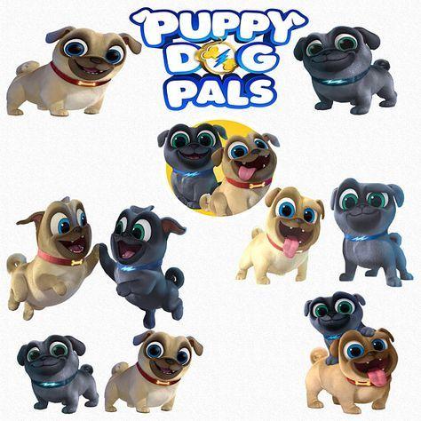 Puppy Dog Pals Clipart 15 High Quality Png Images With Etsy Cumpleanos De Perro Invitacion Cumpleanos Nino Fiesta De Cachorros