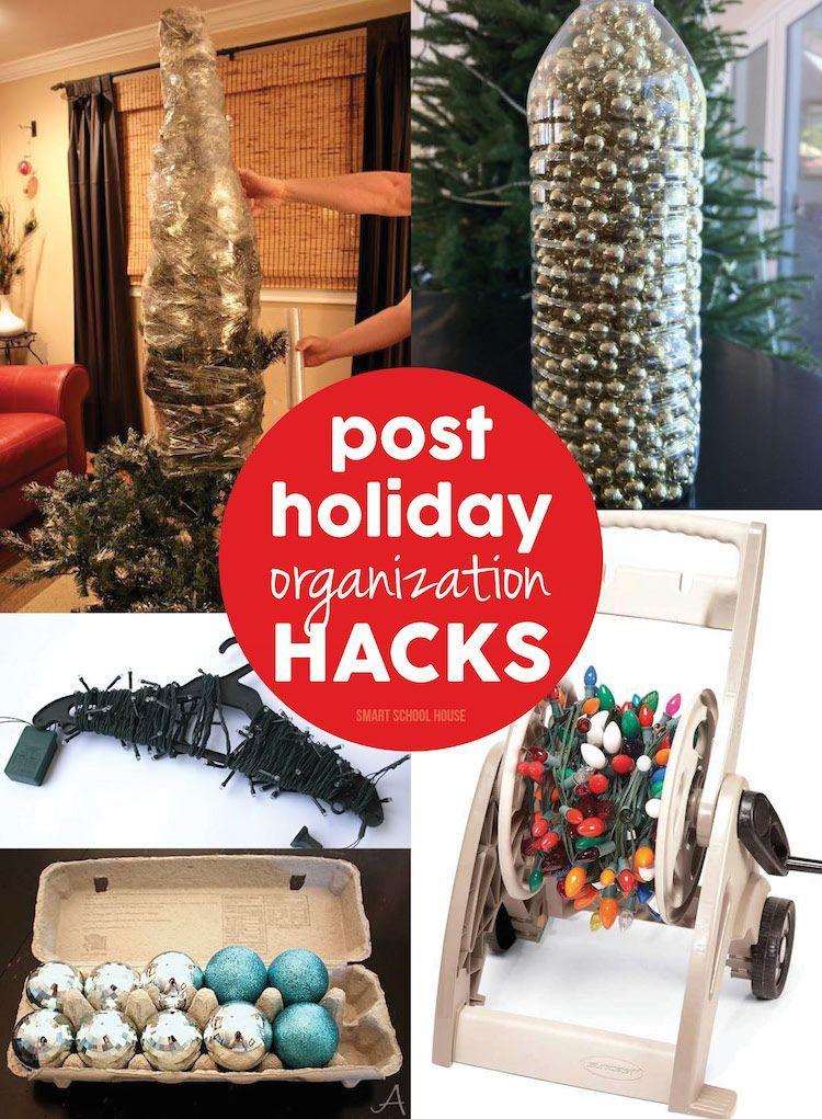 Holiday Organization Hacks Organizations, Holidays and Organizing
