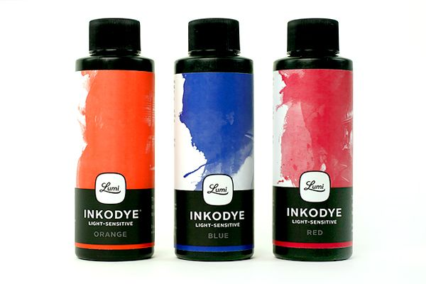 Photo Fabric Dye Kit - Magic dye that develops photos on fabric using sunlight!