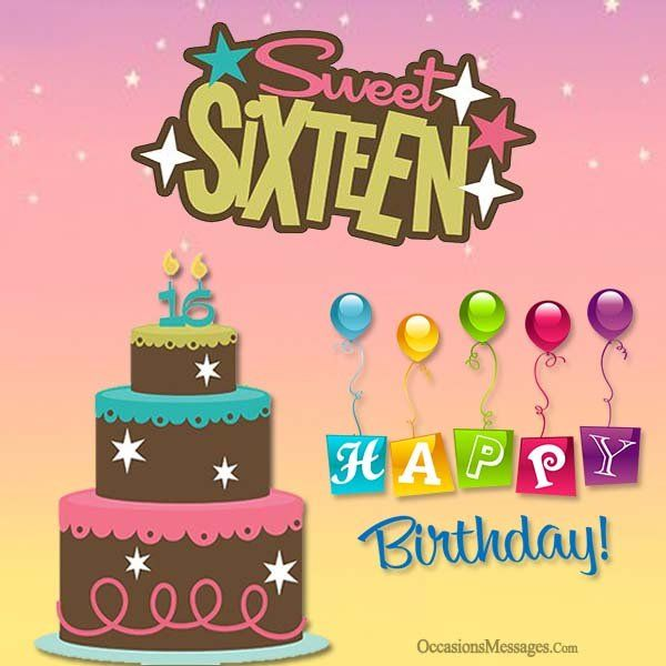 Happy 16th birthday cards mommy me pinterest happy happy 16th birthday cards m4hsunfo
