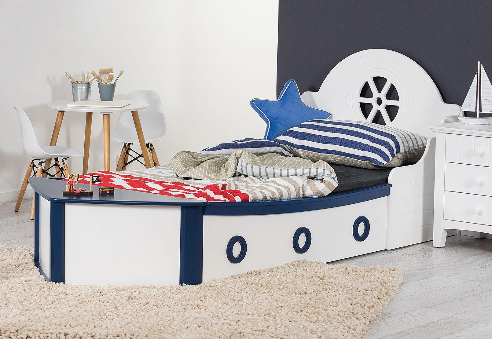 Minnow Single Boat Bed Amart Furniture Bed Bedroom Decor