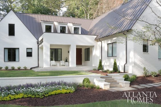 Elegant The White House: My Favorite Exterior Paint Combinations