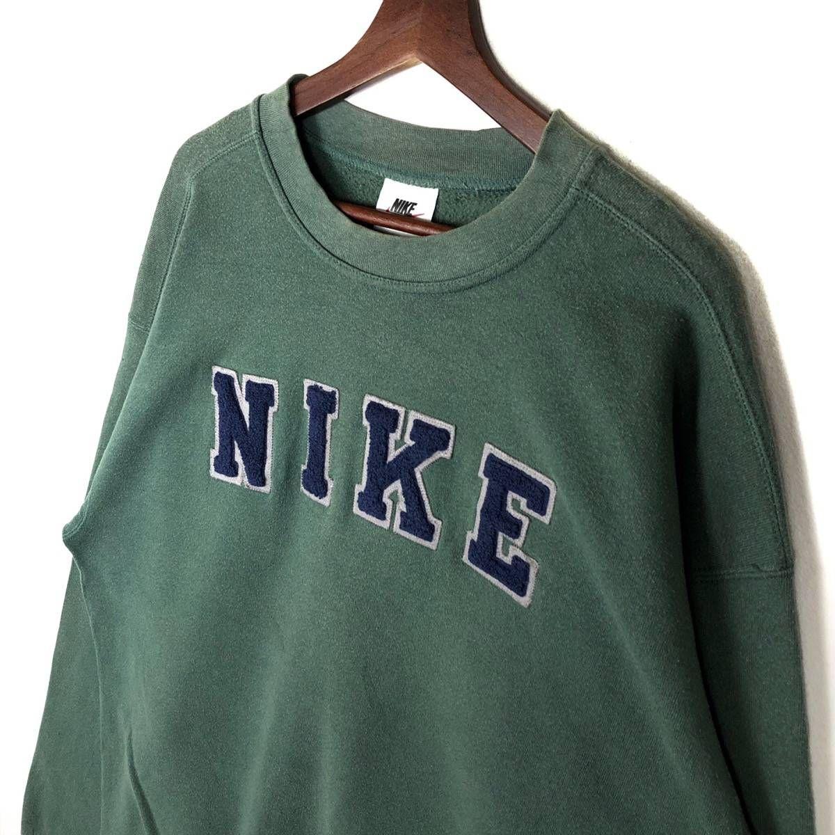 Nike 90 S Nike Crewneck Embroidery Nike Spellout Grailed Vintage Crewneck Sweatshirt Vintage Nike Sweatshirt Crewneck Outfit [ 1200 x 1200 Pixel ]