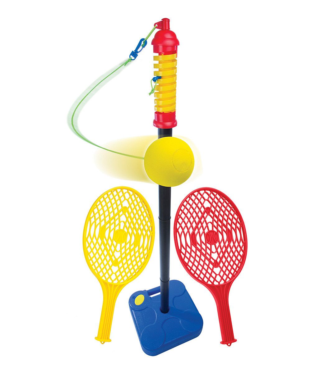 Take a look at this Paddle Tether Ball Set on zulily today!