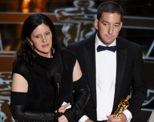 laura poitras oscar speech