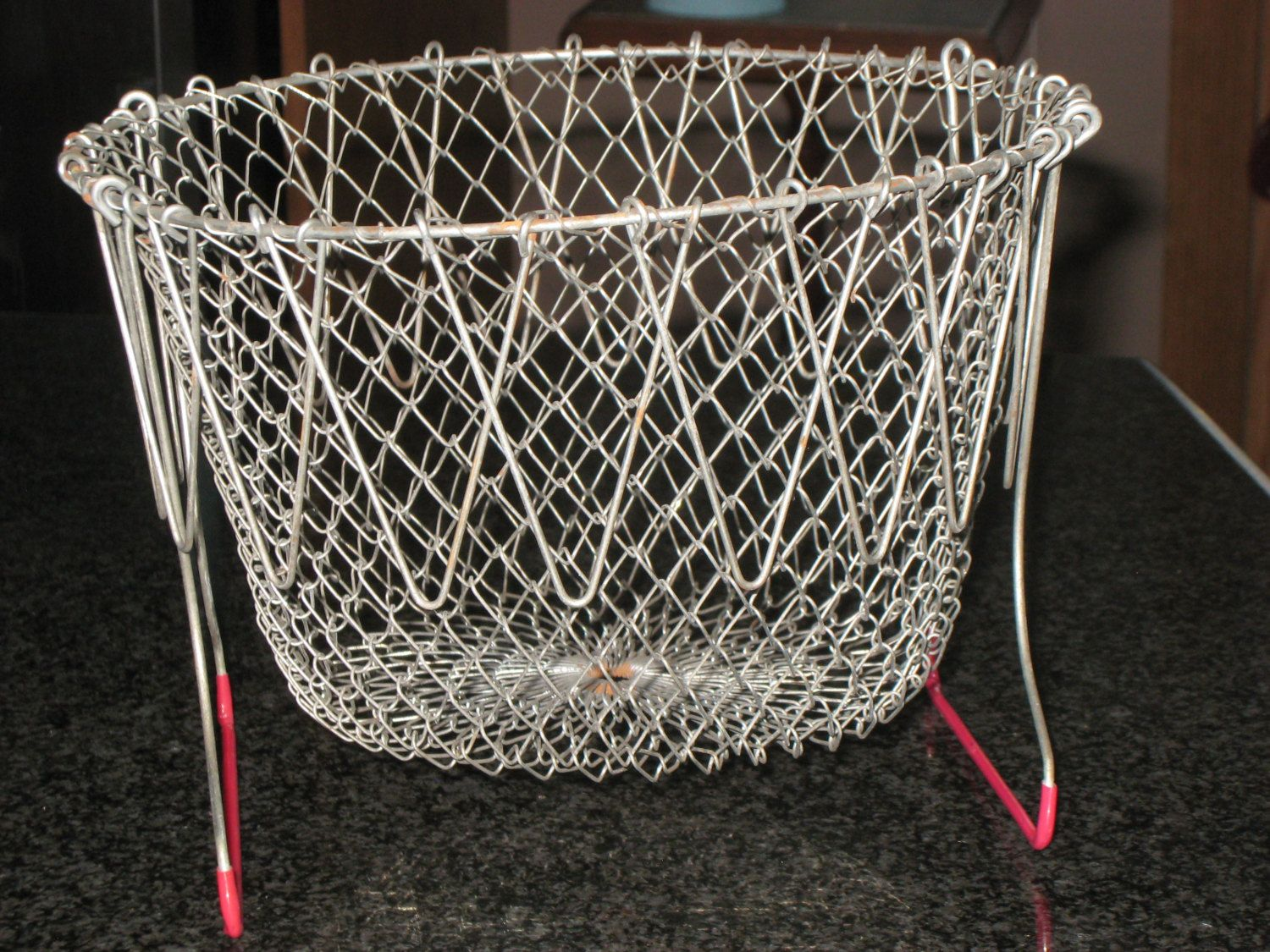 Wire Egg Basket/Wire Strainer/Wire Collapsible Basket Strainer by ...