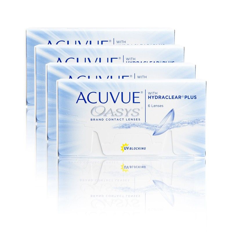 Acuvue Oasys 24 Pack Lenses Layout Template Packaging