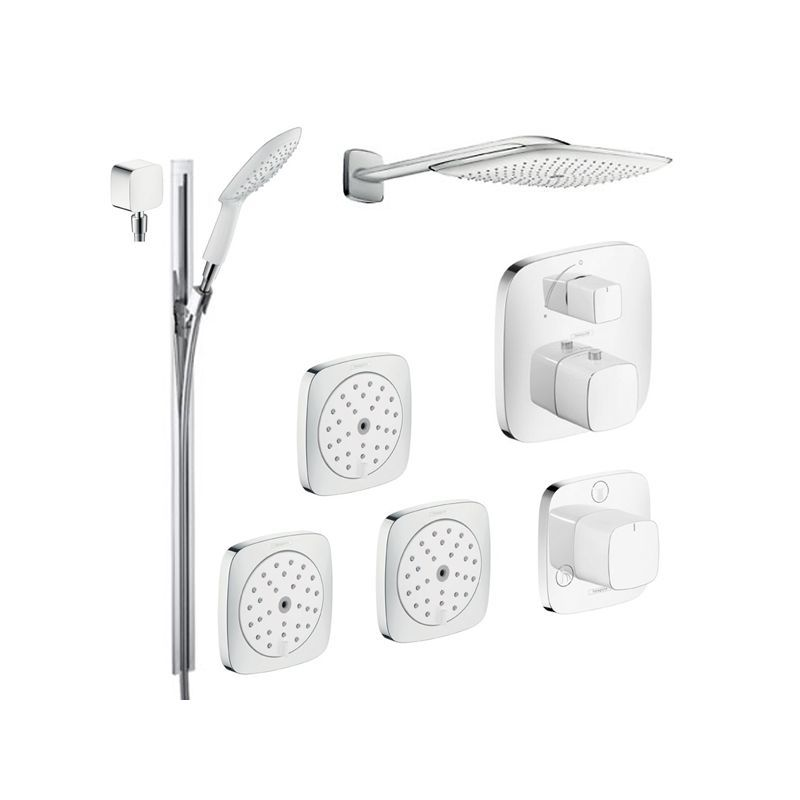 Hansgrohe HG-T304 PuraVida Shower Faucet with Thermostatic ...