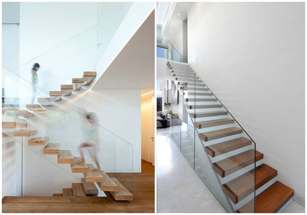 02 dise o de escaleras ligeras escalas pinterest for Gradas de interiores