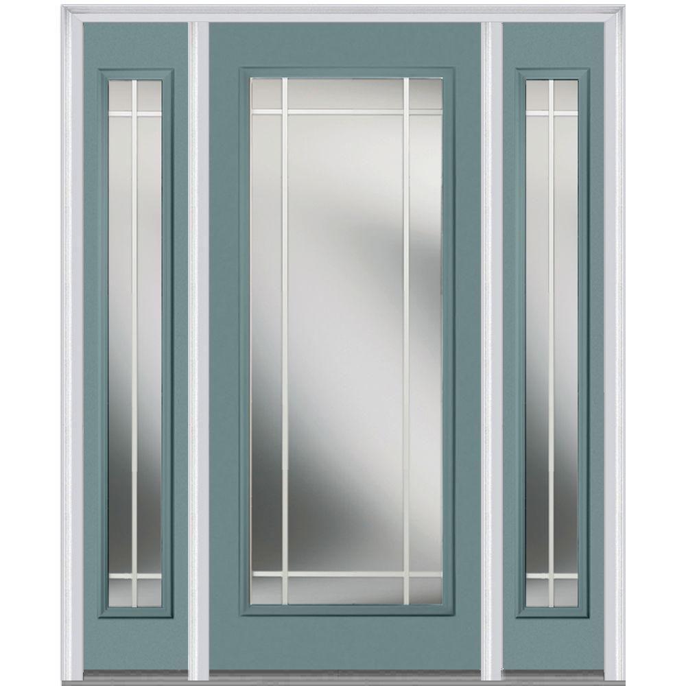 Milliken Millwork 685 In X 8175 In Classic Clear Glass Pim Full