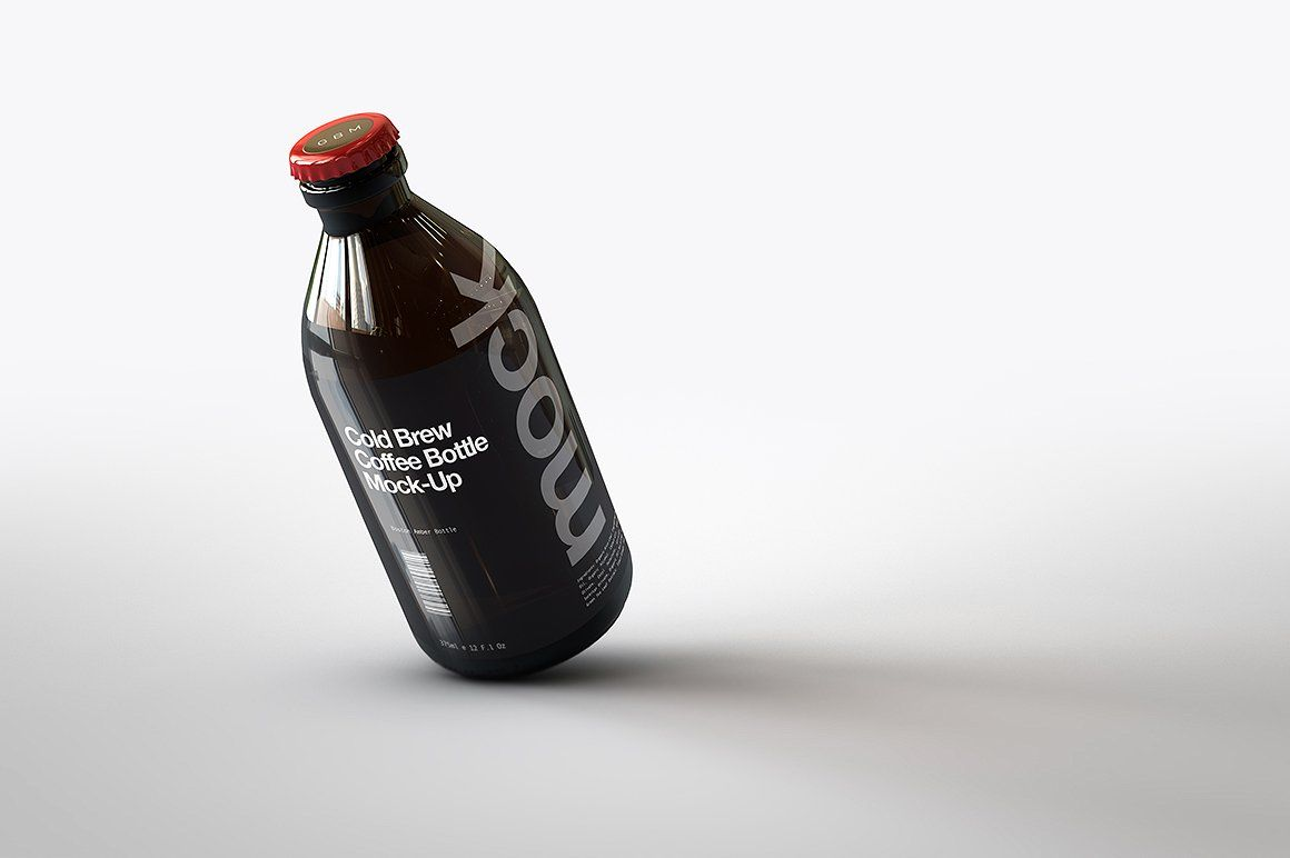 Cold Brew Coffee Bottle Mock-Up | Coffee brewing, Cold ...