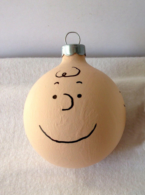 Peanuts Charlie Brown Hand Painted Christmas Ornament. $10.00, via ...