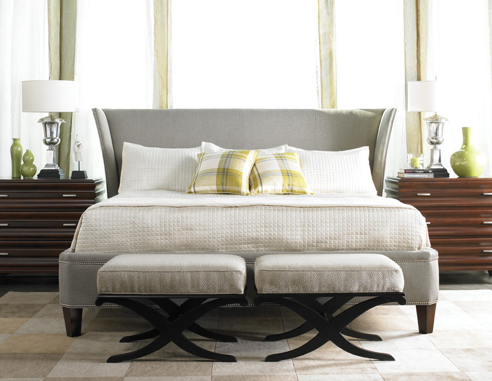 Neutral bedroom furniture in Milwaukee   Contemporary ...