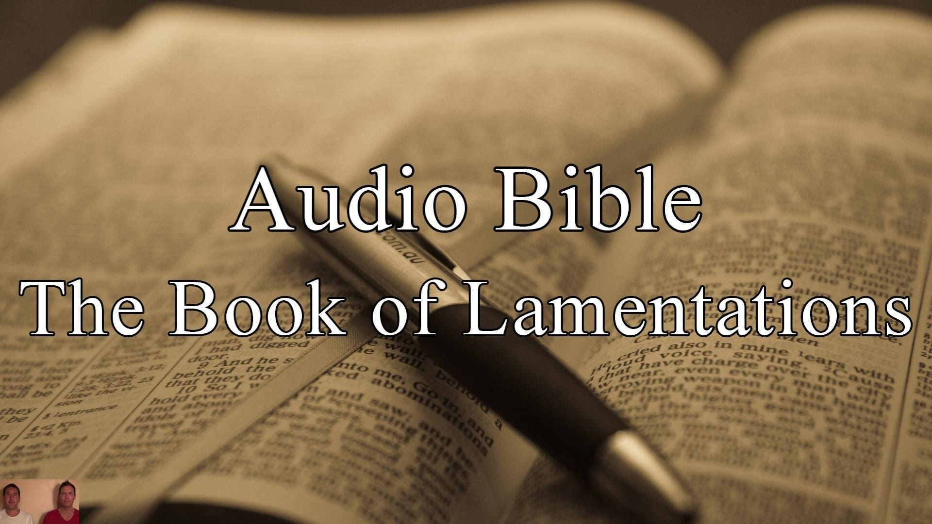 The Book of Lamentations - KJV Audio Holy Bible - High