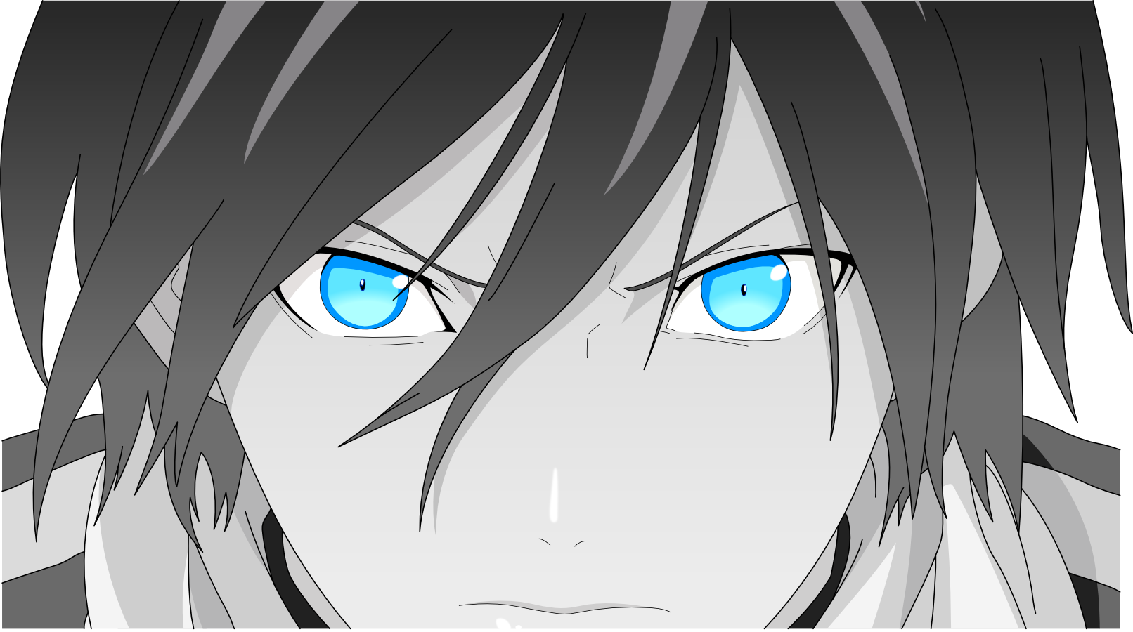 Noragami Yatos Badass Face Vector By Hkkdeviantart On DeviantART