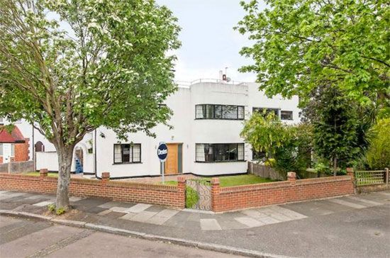 on the market 1930s semi detached art deco property in twickenham