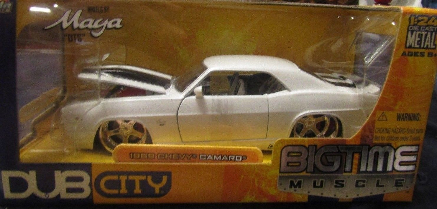 2005 JADA TOYS 1:24 SCALE BIG TIME MUSCLE/DUB CITY 1969 CHEVY CAMARO ...