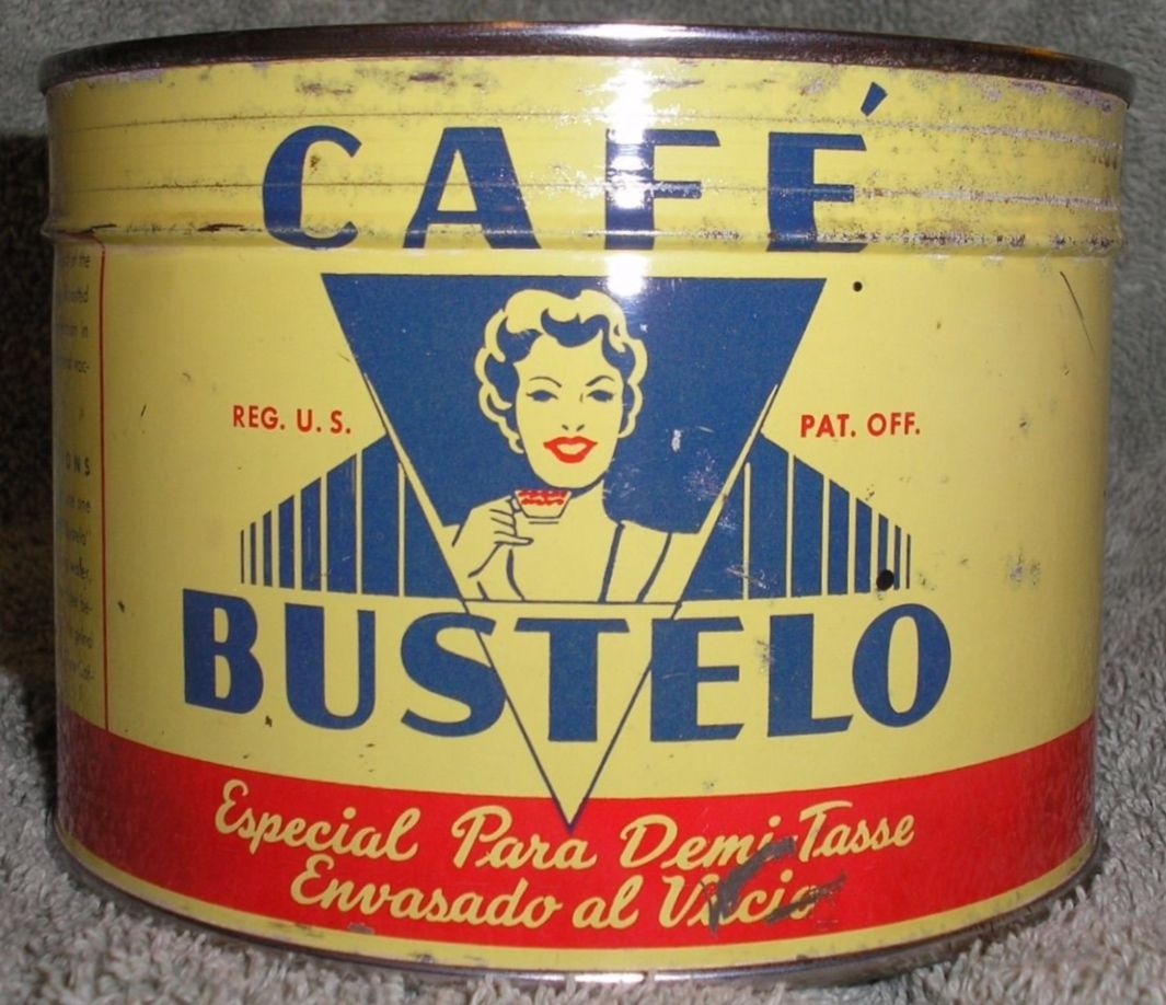 Cafe Bustelo Cafe bustelo, Coffee cafe, Vintage coffee